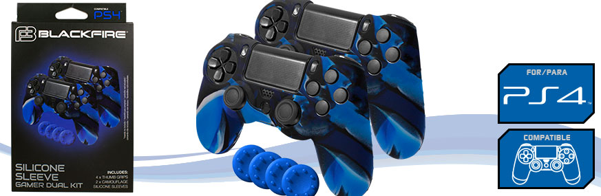BLACKFIRE®_SILICONE_SLEEVE_GAMER_DUAL_KIT