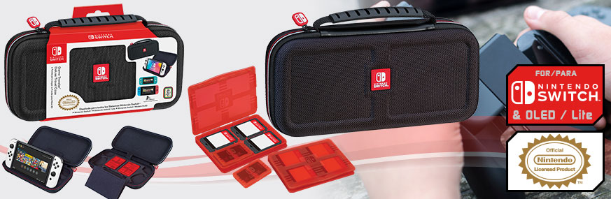 PACK ESTUCHE GAME TRAVELER® NNS40 LIC. NINTENDO® SWITCH