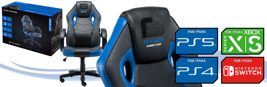 SILLA BLACKFIRE® GAMING CHAIR BFX-603