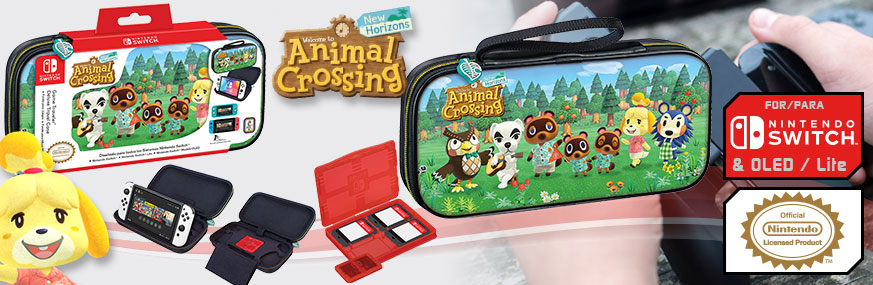 Pack Funda ANIMAL CROSSING™ NNS39AC Lic. Nintendo® para SWITCH™ y Lite