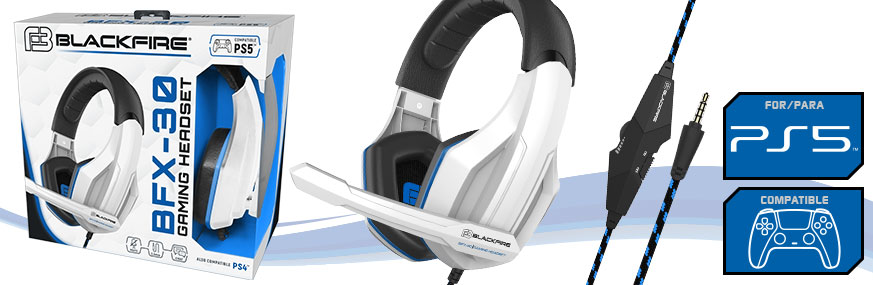AURICULARES GAMING BLACKFIRE® HEADSET BFX-30 PARA PS5™